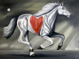 The Love Horse by Nazim Artist