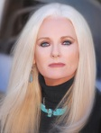 Photograph of Celeste Yarnall, by Alan Mercer