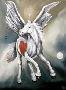"""Pegacorn"" by Nazim Artist"