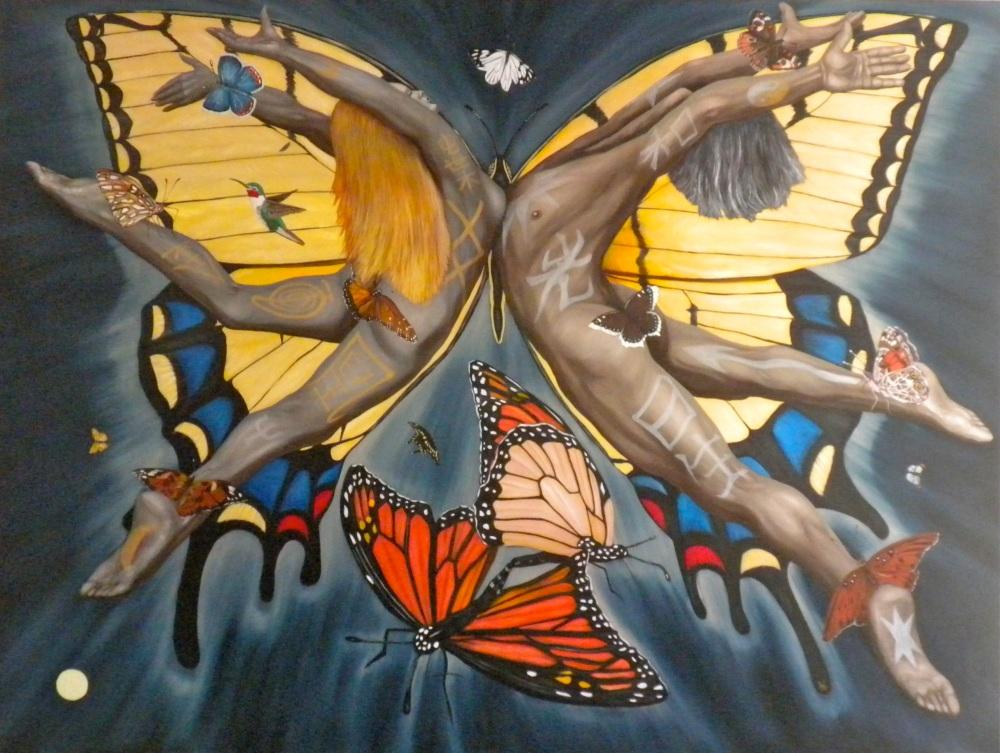 VENUS TRANSIT - BUTTERFLY NEBULA (APOTHEOSIS) (4/4)