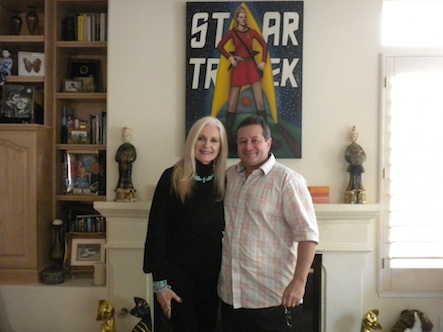 Producer Celeste Yarnall with Femme's Director/creator Emmanuel Itier