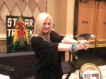 Star Trek Guest Star, Celeste Yarnall aims her phaser, these days at inflammation!