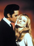 Celeste Yarnall and Elvis Presley in Live a Little, Love a Little, MGM 1968