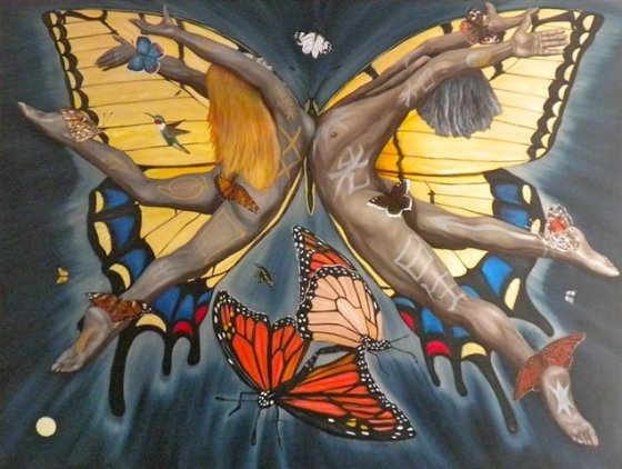 The Butterfly Nebula by Nazim Arist in Femme Women Healing the World
